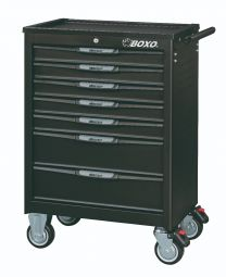 7 Drawer trolley with MIS system, 238pc, black