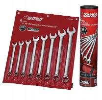 Combination wrench set XL in pouch 8pc