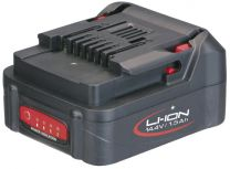 Battery 14.4 V, 2 Ah, Li-Ion, slide-system