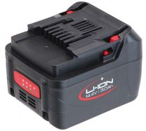 Battery 14.4 V, 4 Ah, Li-Ion, slide-system