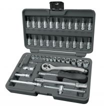 "1/4"" Socket set 46pc"