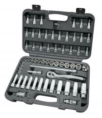 "BOXO 3/8"" Socket set 61pc"