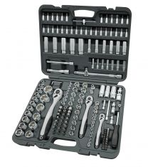 "1/4"", 3/8"" and 1/2"" Combination socket set 172pc"