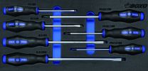 Screwdriver set - slotted an Philips 7pc
