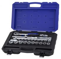 "BOXO 1/2"" socket set 27pc"