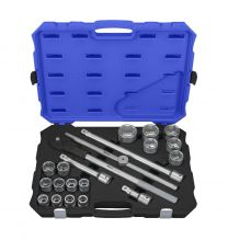 "BOXO 3/4"" Socket set 21pc"