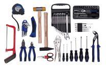 Tool set in nylon bag 56pc