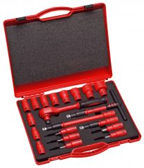 "1/2"" VDE 1000 V insulated tool set 20pc"