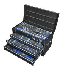 BOXO 3 drawer carry box with 94pc tool set