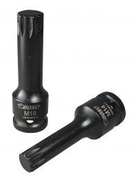 "1/2"" Impact sockets - Spline (XZN)"