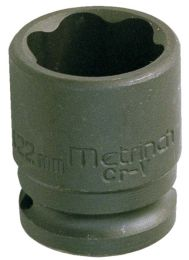 "1/2"" Impact socket 10 mm and 3/8"""