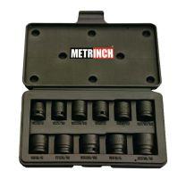 Impact socket set 11pc - MET-2300