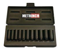 Deep impact socket set 11pc - MET-2305