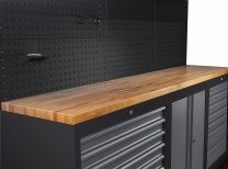 BOXO Wooden work top 1725x500x40 mm