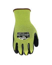 Handschoen pro maat L geel
