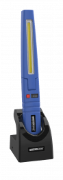 Multi-function work inspection lamp with COB and SMD LED technology blue