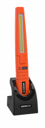 Multi-function work inspection lamp with COB and SMD LED technology orange