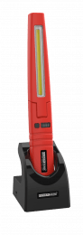 Multi-function work inspection lamp with COB and SMD LED technology red