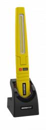 Multi-function work inspection lamp with COB and SMD LED technology yellow