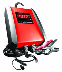 Automatic battery charger 24 V, 10 Amp