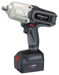 "1/2"" Cordless impact wrench Li-Ion, 880 Nm with 1 battery"