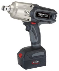 "3/4"" Cordless impact wrench Li-ion, 1000 Nm with 1 battery"
