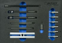 Micro-engineering puller kit 13pc